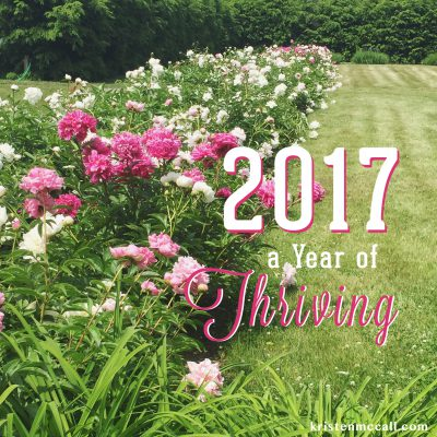 2017: A Year of THRIVING Instead of Surviving